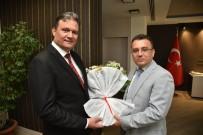 CENGIZ ERGÜN - Başkan Ergün Zabıta Haftası'nı Pasta Keserek Kutladı