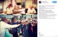 YÜZ YÜZE - Başkan Topbaş, Instagram'dan Malazgirt'e Mesaj Gönderdi