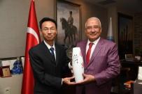 BÜYÜK ORTADOĞU PROJESI - Çin Büyükelçisi Hongyang, Başkan Kocamaz'ı Ziyaret Etti