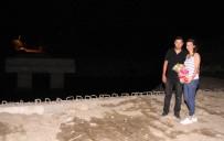 EVLİLİK TEKLİFİ - Evlilik Teklifini Köprü İnşaatında Yaptı