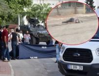 CANLI BOMBA - Mersin'de saldırı hazırlığındaki canlı bomba öldürüldü