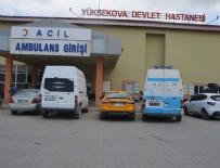 YÜKSEKOVA DEVLET HASTANESİ - Hakkari'de teröristler işçilere ateş açtı! 2 ölü, 3 yaralı