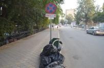 Iğdır'da Duyarsız Esnaflar Çöp Yığını Oluşturdu