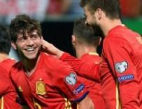 KENDİ KALESİNE - İspanya attıkça attı: 8-0