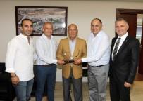 KARTAL BELEDİYE BAŞKANI - İstanbullu Hakemlerden Başkan Altınok Öz'e Ziyaret