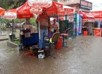 Kırıkkale'de Sağanak Yağış