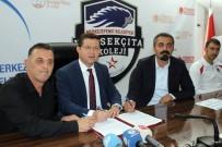 İŞBİRLİĞİ PROTOKOLÜ - Merkezefendi Belediyesi İle Yüksekçıta Basketbol Arasında İşbirliği Protokolü Yapıldı