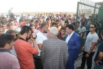 TAKSİ ŞOFÖRLERİ - Taksicilerden Habur'daki Sınırlamaya Tepki