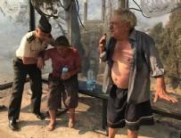 ORMAN YANGıNLARı - Yangın büyüyor! Alevler evlere sıçradı
