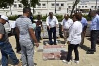 YOĞUN MESAİ - Yunusemre'de Parke Taşsız Yol Kalmayacak