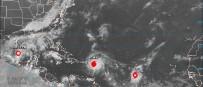 PORTO RIKO - ABD Diken Üstünde Açıklaması Kasırga Hızını Artırarak İlerliyor