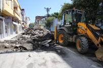 KALDIRIMLAR - Bafra'da Beton Yol Seferberliği