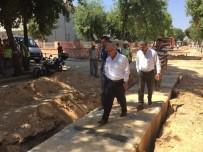 TÜRK LIRASı - Başkan Kayda Yağmur Suyu Hatlarını İnceledi
