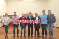 ŞEYH EDEBALI - Bilecikspor Yönetiminden Rektör Taş'a Ziyaret