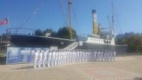 HARP OKULU - Deniz Harp Okulu Öğrencilerinden Gazi Alemdar Müze Gemisi'ni Ziyaret Etti