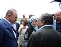 RAVZA KAVAKÇI KAN - Dışişleri Bakanı Çavuşoğlu Ve Emine Erdoğan Kutupalon Mülteci Kampı'nda