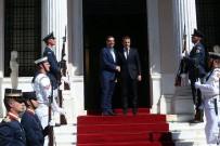 DIŞ POLİTİKA - Fransa Cumhurbaşkanı Macron Ve Yunanistan Başbakanı Çipras Görüştü