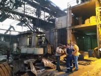 PAYAS - Hatay'da Çelikhanede Kazan Patladı Açıklaması 2 Yaralı