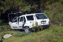 Kastamonu'da Otomobil Şarampole Devrildi Açıklaması 1 Ölü, 4 Yaralı