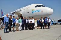 MUSTAFA CİHAD FESLİHAN - Kemer Logolu Uçak İlk Uçuşunu Yaptı