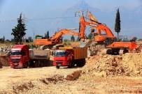 RAYLI SİSTEM - Kepez-Santral'de Hafriyat Çalışmaları Başladı