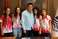 YURTTAŞ - Muaythai Sporcularından Başkan Kocadon'a Ziyaret