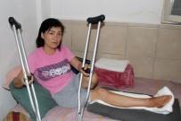 GIDA YARDIMI - Otomobilin Çarpıp Kaçtığı Kırgız Kadının Başına Gelmeyen Kalmadı
