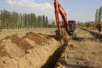 HÜSEYIN SÖZLÜ - Tufanbeyli Doğanlı Göleti Kapalı Sistem Sulama Projesi Tamamlanıyor