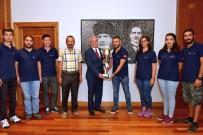 GÜNDOĞAN - Türkiye 2'Ncisi Hidroana Ekibinden Rektör Gündoğan'a Ziyaret
