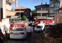 İTFAİYE ERİ - Vatandaş İhbarı Abartınca Ot Yangınına 3 İtfaiye Ekibi Birden Geldi