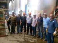 ALPULLU - 4 Yıldır Çalışmayan Fabrikayı İşçiler Çalıştırdı