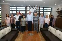 KAZıM KURT - 75'İnci Yıl Mahalle Meclisi'nden Başkan Kurt'ta Teşekkür Ziyareti