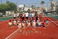 SPOR TOTO - Akdeniz İlk Tenis Kortuna Kavuştu