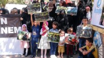 GÜLISTAN CADDESI - Arakan'daki Saldırılar, Batman'da Protesto Edildi