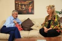 YILDIZ KENTER - Başkan Şenol, Fatma Belgen'i Yalnız Bırakmadı