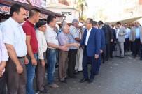 AHMET TÜRKÖZ - Belediye Hizmet Binasının Temeli Atıldı