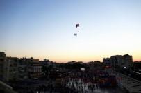 HALUK LEVENT - Büyükşehirden Motorlu Paraşütle Kurtuluş Mesajı