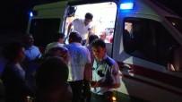Dört Kişiyi Yaraladıktan Sonra Kaçan Hırsızlık Şüphelileri Polisin Üstüne Araç Sürdü