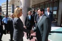 MUSTAFA AK - Gagavuzya Başkanı Vlah'dan Başkan Ak'a Davet