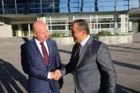 ALI CANDAN - Kaymakam Ali Candan'dan Başkan Çolakbayrakdar'a Veda Ziyareti