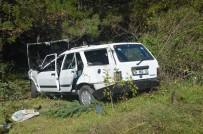 Kazada Ağır Yaralanan Kadın Kurtarılamadı