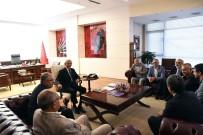 NECATI YıLMAZ - Kılıçdaroğlu, Alevi Bektaşi Federasyonu Heyeti İle Bir Araya Geldi