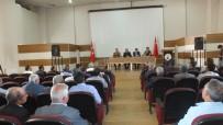 KAMERA SİSTEMİ - Malazgirt'te Servis Şoförlerine Yönelik Bilgilendirme Toplantısı