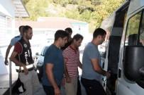 AKSAZ DENIZ ÜSSÜ - Marmaris'te FETÖ Şüphelisi 5 Rütbeli Asker Gözaltına Alındı
