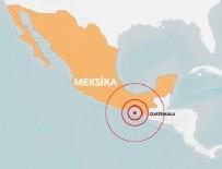 GUATEMALA - Meksika'da 8,1 büyüklüğünde deprem oldu