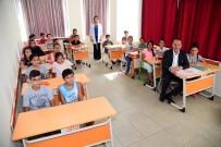 TÜRK GENÇLİĞİ - Rekor Katılımlı Sınava Başkan Sözlü'den Moral Ziyareti