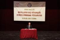 FİDAN YAZICIOĞLU - Sivas'ta Okulların Dış Güvenliği Değerlendirme Toplantısı