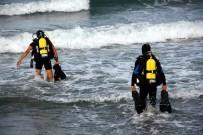 BOĞULMA TEHLİKESİ - Suriyeli Çocuk Denizde Kayboldu