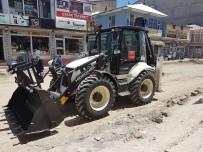 CENAZE ARACI - Tutak Belediyesi Hizmetlerine Devam Ediyor