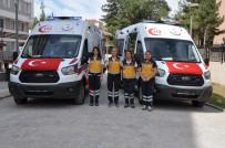 UŞAK VALİLİĞİ - Uşak İl Sağlık Müdürlüğünde Ambulans Teslim Töreni Yapıldı